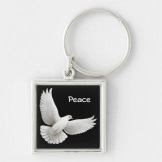Customizable Dove Keychain