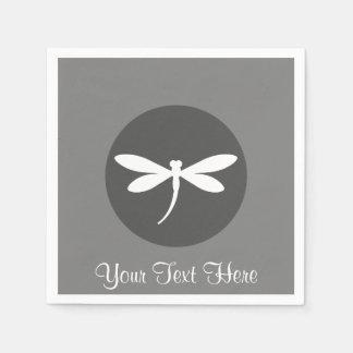 Customizable Dragonfly Napkins Paper Napkin