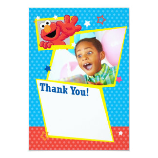 Customizable Extreme Elmo Thank You Card