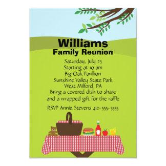 Customizable Family Reunion 13 Cm X 18 Cm Invitation Card
