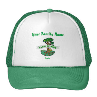 Customizable Family Reunion Hat