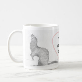Customizable Ferret Mug - Dimitri - Warm the Heart