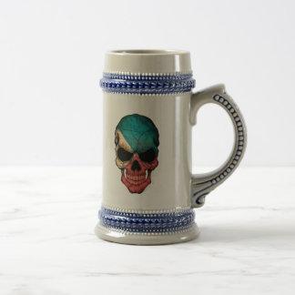 Customizable Filipino Flag Skull Coffee Mug
