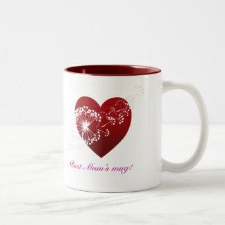 Customizable: Fine & Dandy Two-Tone Mug