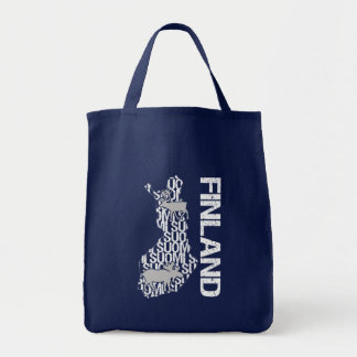 Customizable FINLAND MAP bag - choose style
