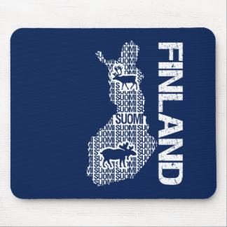 Customizable FINLAND MAP mousepad