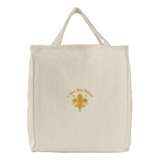Customizable Fleur de Lis Tote Bag