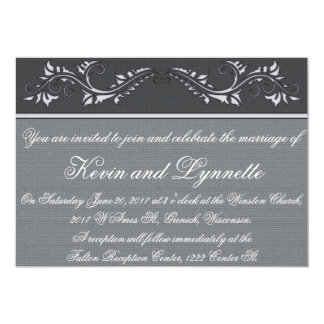 Customizable Floral Classic Wedding Invitations