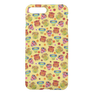 Customizable Floral Sugar Skulls iPhone 7 Plus Case
