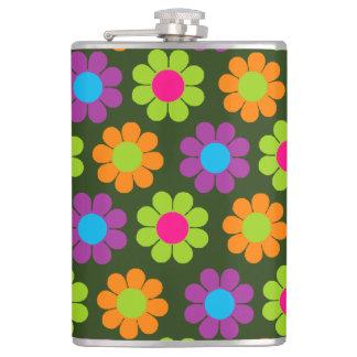 Customizable Flower Power Flasks