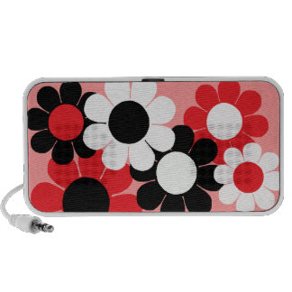 Customizable Flower Power Laptop Speaker