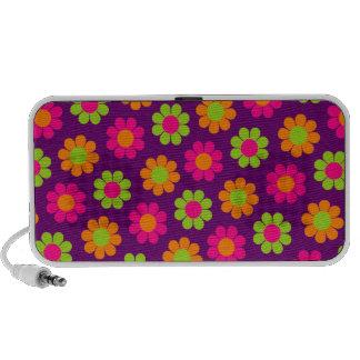 Customizable Flower Power Notebook Speaker