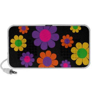 Customizable Flower Power PC Speakers