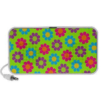 Customizable Flower Power Travel Speaker