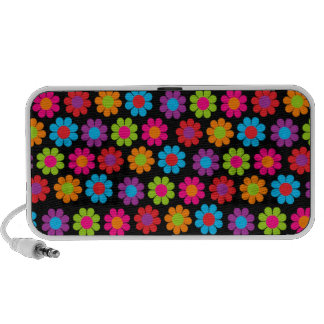 Customizable Flower Power Travel Speakers