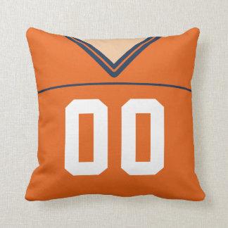 Customizable Football Jersey Number Jersey Cushion