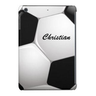 Customizable Football Soccer Ball iPad Mini Retina Cover