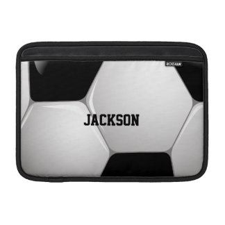 Customizable Football Soccer Ball MacBook Sleeve