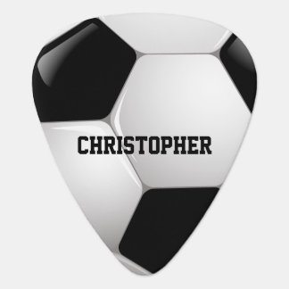 Customizable Football Soccer Ball Plectrum