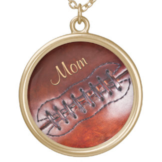 Customizable Football Team Mom Gift Ideas Necklace