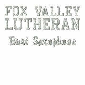 Customizable Fox Valley Lutheran High School Embroidered Hoody