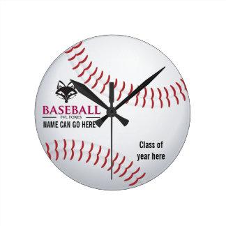 Customizable FVL Baseball Clock