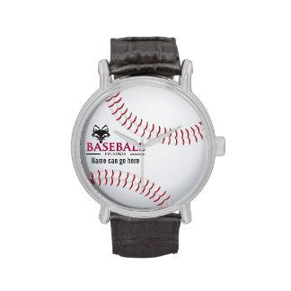 Customizable FVL Baseball Wrist Watches