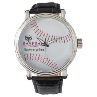 Customizable FVL Baseball Wristwatches