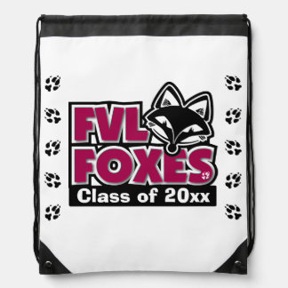 Customizable FVL Foxes Class of Cinch Bag