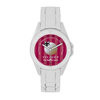 Customizable FVL Foxes Golf Wrist Watch
