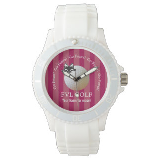 Customizable FVL Foxes Golf Wrist Watches