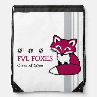 Customizable FVL Foxes Cinch Bag