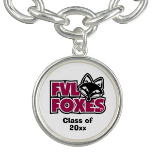 Customizable FVL Foxes Charm Bracelet