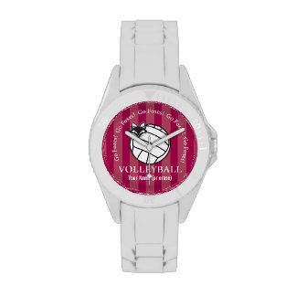 Customizable FVL Foxes Volleyball Wristwatches