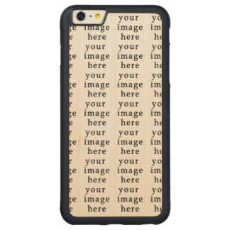 Customizable Gifts   Design Your Own Carved® Maple iPhone 6 Plus Bumper