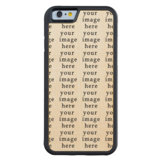 Customizable Gifts   Design Your Own Carved® Maple iPhone 6 Bumper