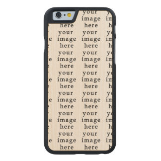 Customizable Gifts | Design Your Own Carved® Maple iPhone 6 Slim Case