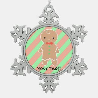 Customizable Gingerbread Man Ornaments