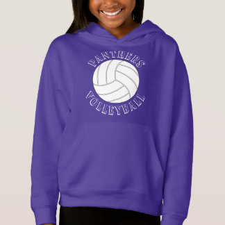 Customizable Girls Volleyball Sweatshirt