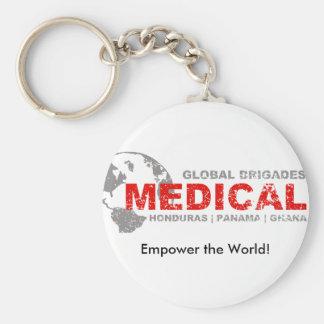 Customizable Global Medical Brigades Keychain