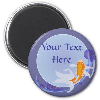 Customizable Goldfish Magnet 2