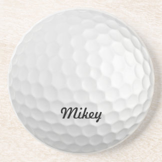 Customizable Golf Ball Coaster