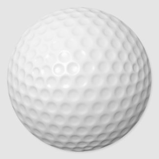 Customizable Golf Ball Stickers