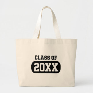 Customizable Graduation Year Jumbo Tote Bag