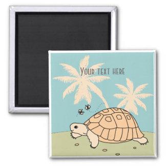 Customizable Greek Tortoise Magnet 1