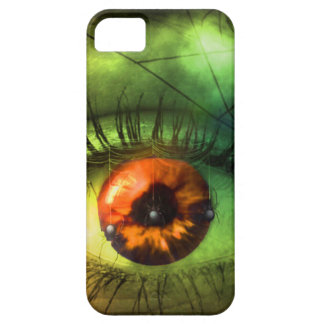 customizable Green Halloween Nightmare Barely There iPhone 5 Case