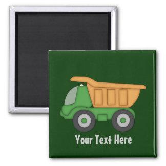 Customizable Green Truck Magnet
