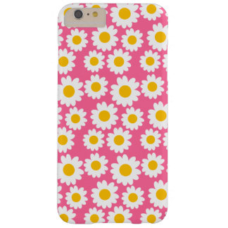Customizable Groovy Daisies Barely There iPhone 6 Plus Case