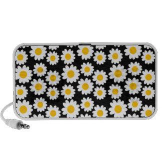 Customizable Groovy Daisies iPod Speaker