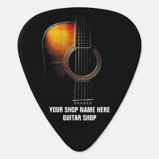 Customizable Guitar Pick (Guitar Shop or Teacher)